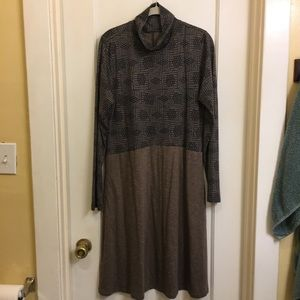 Toad&Co long sleeve turtle neck dress w/ pockets!